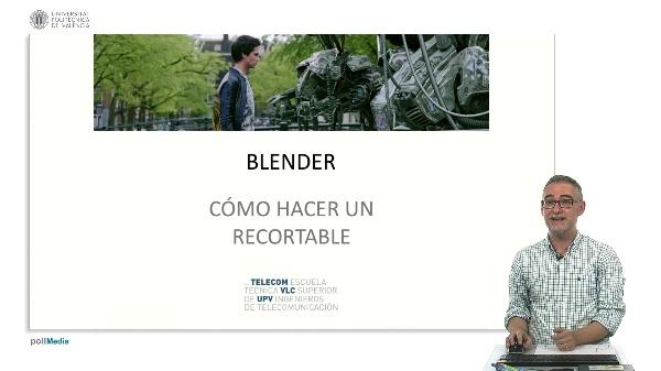 Blender: Como hacer un recortable