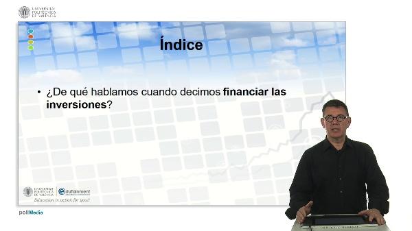 Financiación de las inversiones