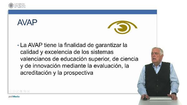 Agencia Valenciana de Acreditación y Prospectiva.