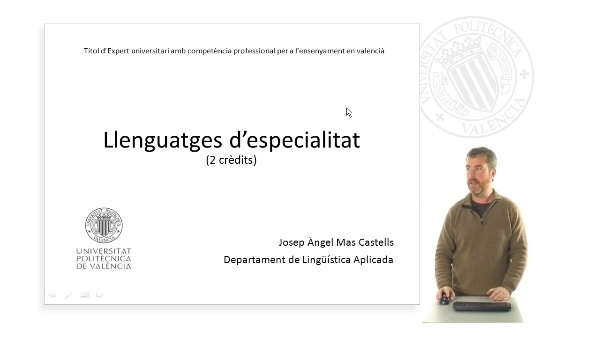 Llenguatges d'especialitat