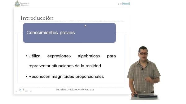 Bloque 2: Álgebra, Ecuaciones Lineales en dos Variables. Deficición de Función Lineal