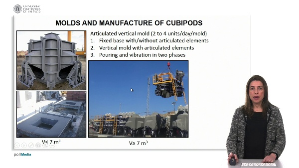 Molds and manufacture of cubipods (2)