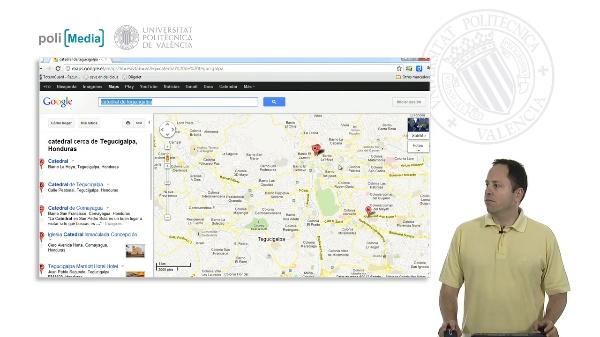 Buscar en Internet. Los mapas