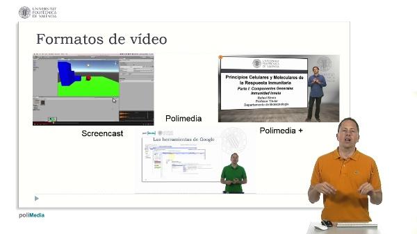 Diseño instruccional. Grabación de vídeos para MOOC