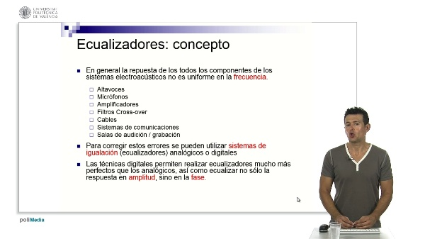Ecualizadores: concepto y tipos