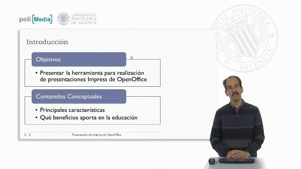 Presentación con Impress de OpenOffice