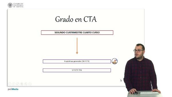 Sistema de votación de asignaturas optativas. Grado CTA (CAS)