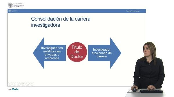 Carrera Profesional del Personal Investigador Funcionario
