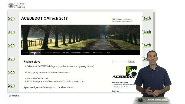 OMTECH 2017. Workshop