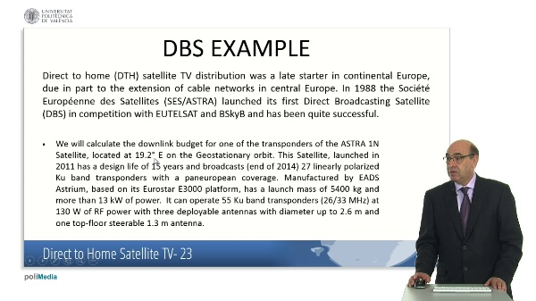 Direct to Home Satellite TV. Case Study (VI)