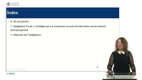Presentació Assignatura 9. Capacitació en Valencià