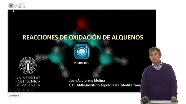 Reacciones de oxidación de alquenos - Interactivo