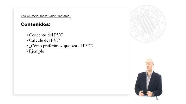 PVC (Precio sobre Valor Contable)