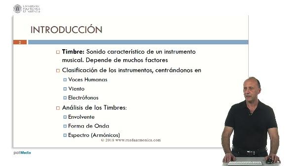 Timbres: Voces Humanas, Instrumentos de Viento y Electrónicos