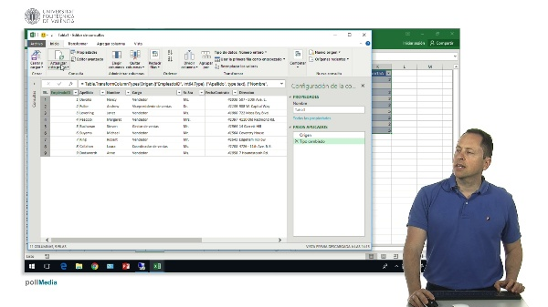 Excel. Power Query. Distintas versiones