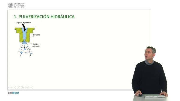 TIPOS DE PULVERIZACIÓN