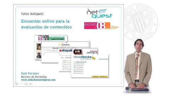 Encuestas online para la evaluación de contenidos digitales