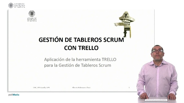 Gestión de tableros SCRUM con TRELLO.