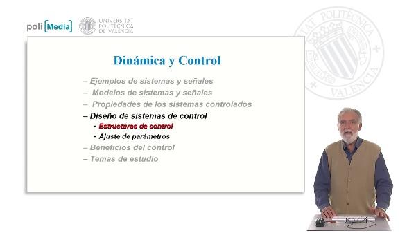 Diseño de sistemas de control. Estructuras de control. AJuste de parámetros