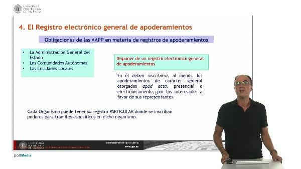 Modulo 3. Los interesados en el procedimiento administrativo. Sesión 2.