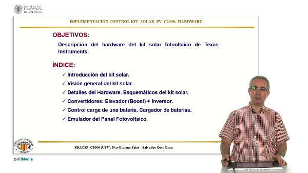 Implementacion Control Kit Solar PV c2000. Hardware