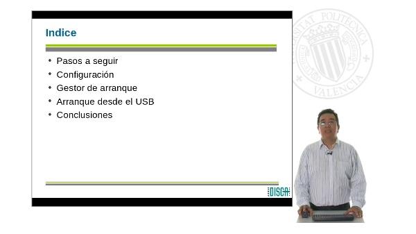 Instalación de una distribución Debian en una memoria USB