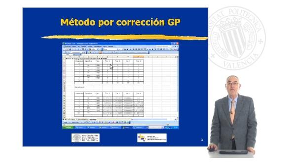 Metodo por Corrección GP