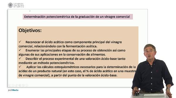 Determinación potenciométrica de la graduación de vinagre comercial