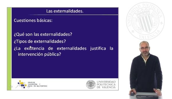 Introducción y Definición de las Externalidades