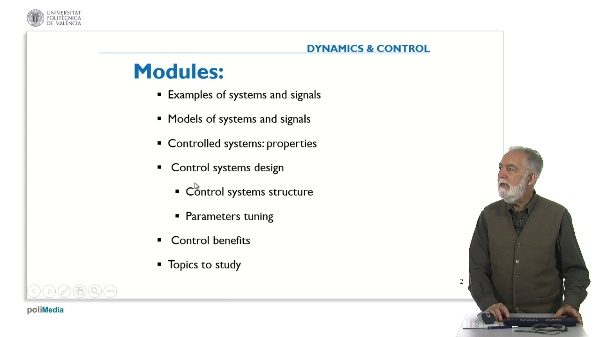 Control Systems Design: Structure