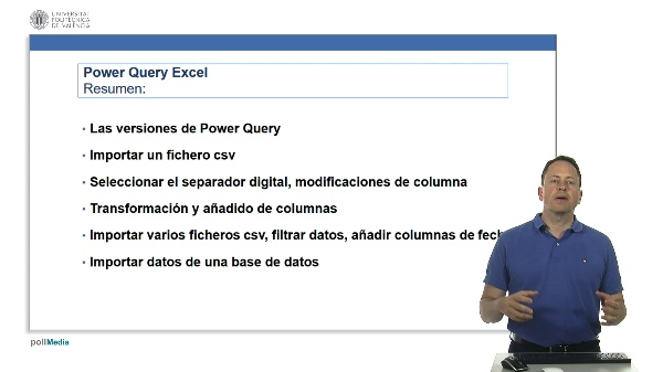 Excel. Power Query. Resumen