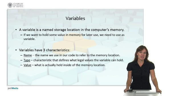 Programming Logic and Languages: variables and data types