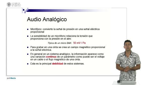 Audio Analogico vs Audio Digital