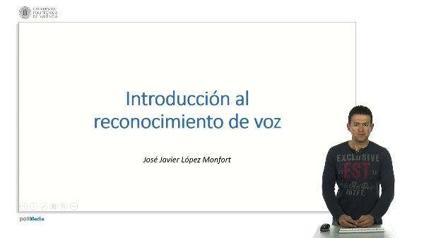 Introducción al reconocimiento de voz.