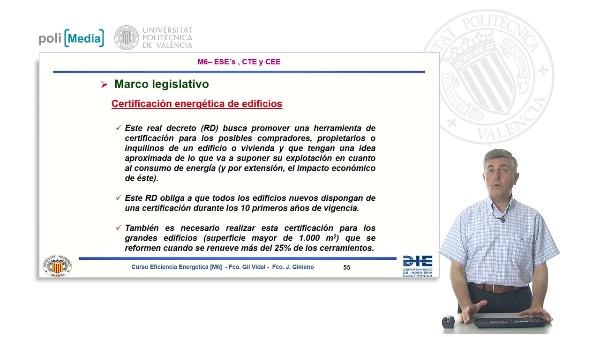 M6.c2 Certificación técnica de edificios. Normativa