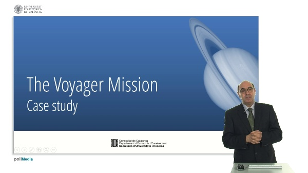 The Voyager Mission. Case study (I)