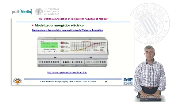 M5.b4 Equipos de medida para auditorías: modelizador energético