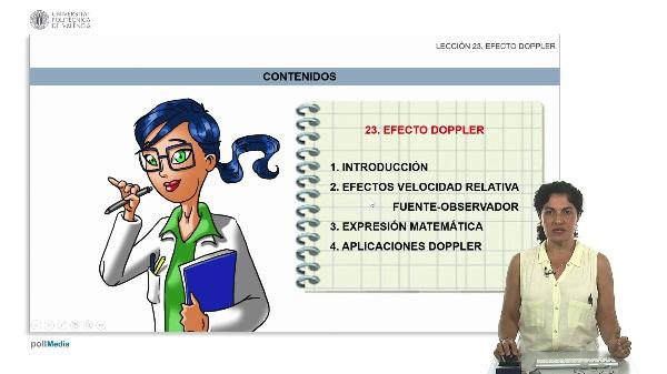 MOOC Ondas 1.23 Efecto Doppler