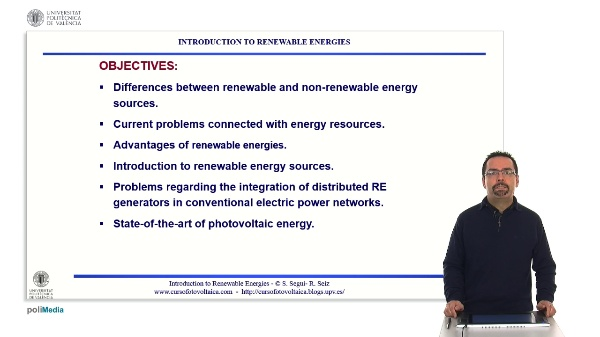 Introduction to renewable energies