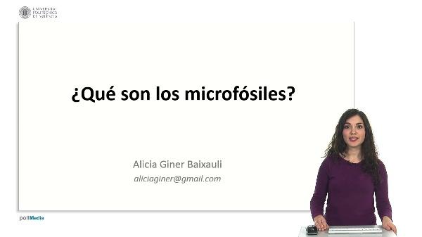 ¿Qué son los microfósiles?