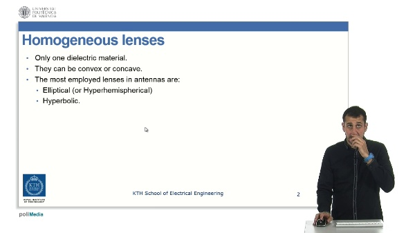 LENS ANTENNAS - Part 2: Homogeneous lenses: Spherical.