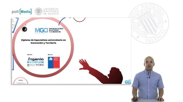 Diploma de Especialista universitario en Innovación y Territorio