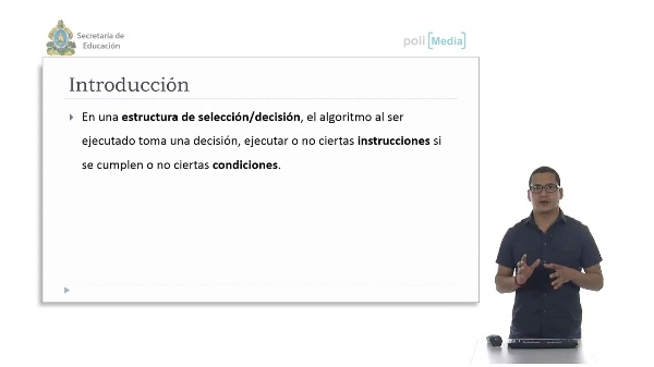 Programación Básica. Estructura de Selección Doble. Ejemplo
