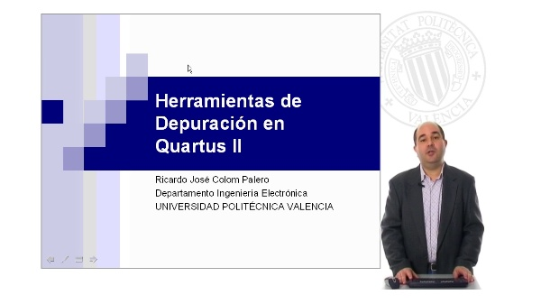 Herramientas de Depuración en Quartus II