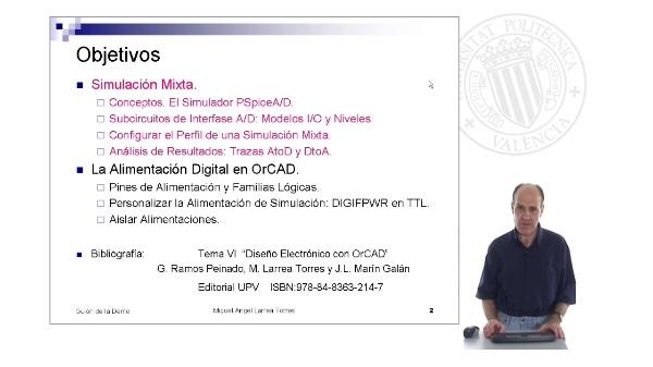 Prontuario de OrCAD. PSpiceA/D: Simulación Mixta (y II)