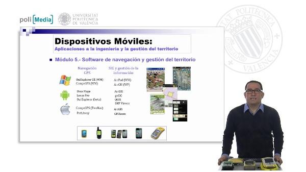 Software de navegación y gestión del territorio (SIG)