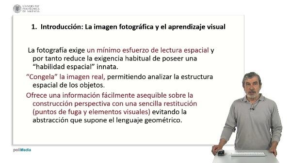La fotografía como medio auxiliar y creativo de la perspectiva