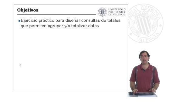 Microsoft Access - Ejercicios - Diseño de consultas - Consultas de totales(II)