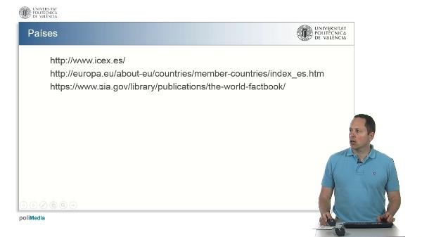 Información sobre países