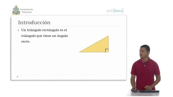 Triángulos rectángulos. Criterios de congruencia